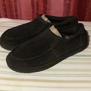 American Eagle Outfitters Leather upper shoes